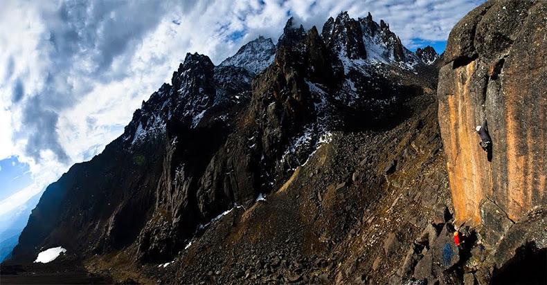 Guía digital de escalada en Bolivia.