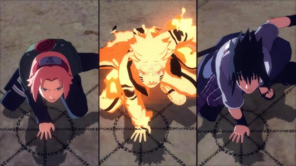 Team 7 Kuchiyose no Jutsu