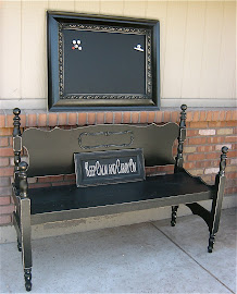 Magnetic Chalkboard (SOLD)