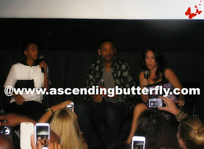 Jaden Smith, Will Smith, Melissa Musen Gerstein, The Moms, After Earth
