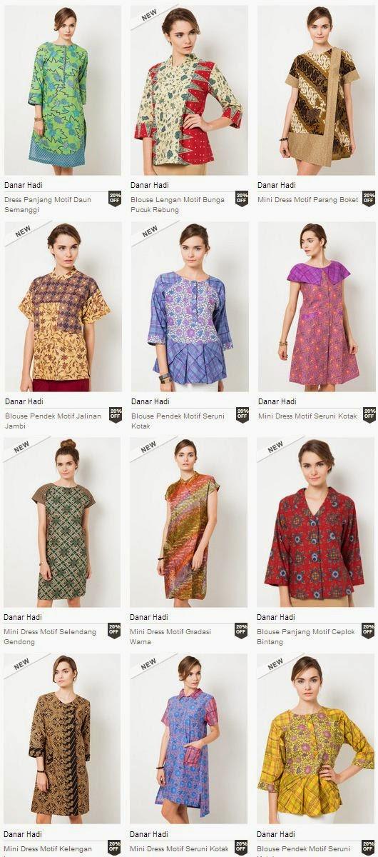 Baju Batik Danar Hadi Terbaru