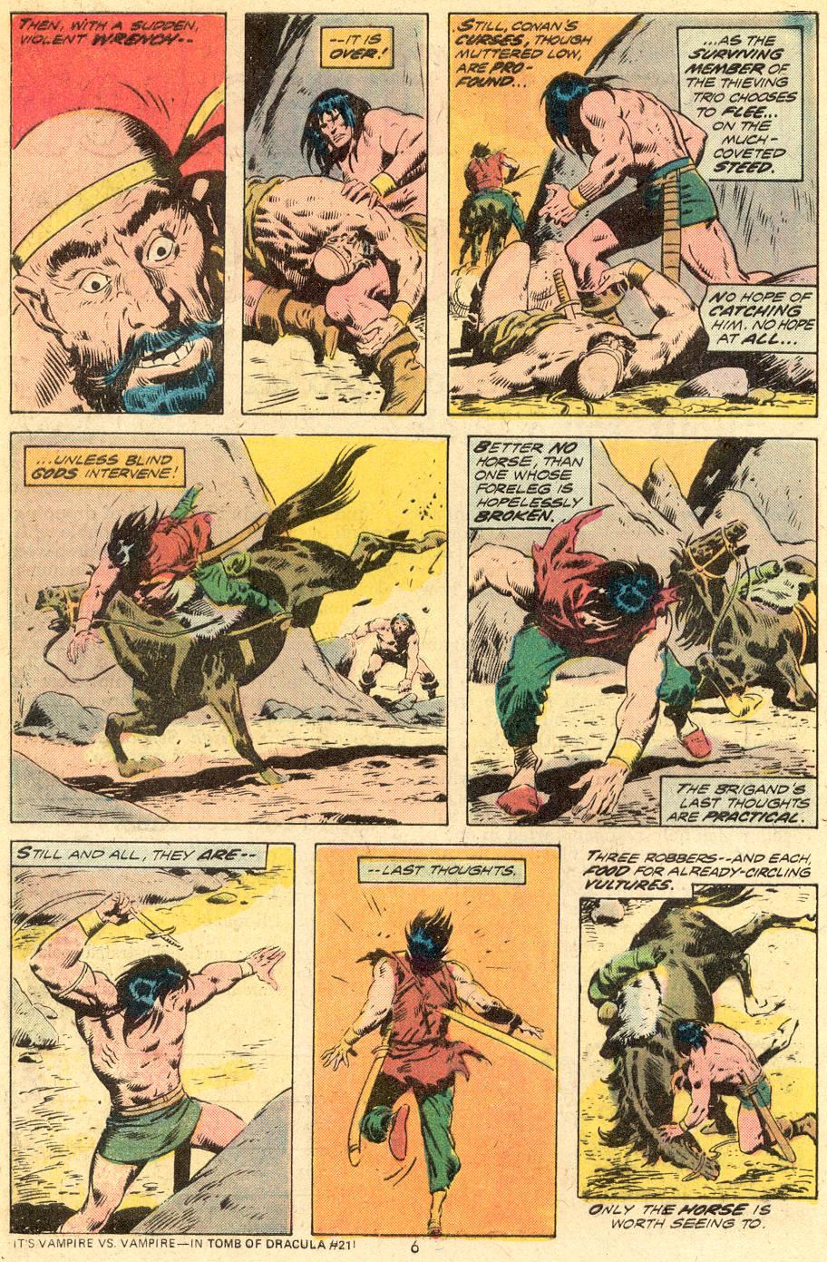 Conan the Barbarian (1970) Issue #39 #51 - English 5
