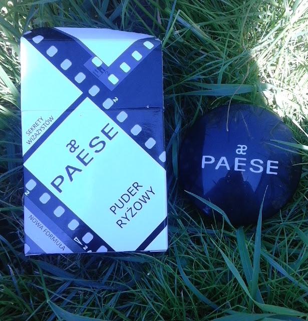 Puder ryżowy PAESE czy odkryłyśmy sekret wizażystów?