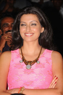 Hamsa Nandini Spicy Pink Tank Top Black Leggings Stunning Beauty
