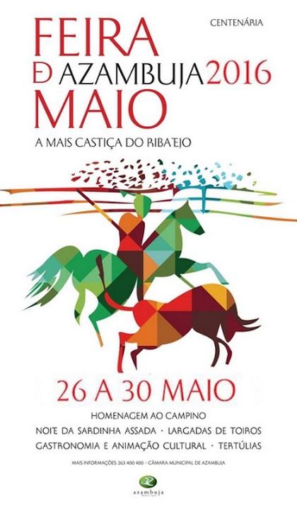 Azambuja- Feira de Maio 2016- 26 a 30 Maio