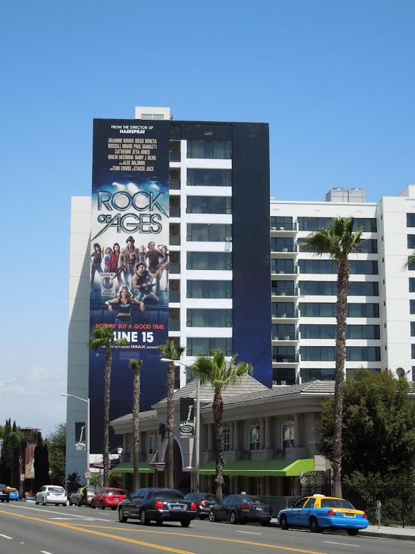 Rock of Ages movie billboard Sunset Strip