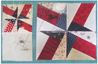 Jelly Roll Patriotic Quilt - BasiX Template