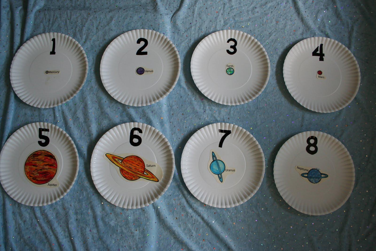 preschool planets art - photo #3