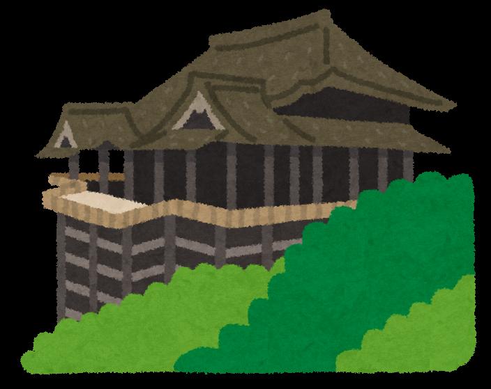 イラスト お金 イラスト かわいい : ... 京都の清水寺のイラストです