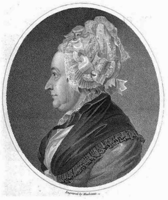 Elizabeth Carter from Memoirs of the Life  of Elizabeth Carter by Rev M Pennnington (1816)