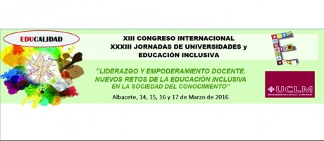 XIII CONGRESO INTERNACIONAL EDUCACIÓN INCLUSIVA
