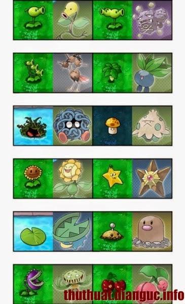 Game Plants vs Zombies PC phiên bản Pokemon Việt hóa