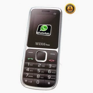 Wingfone C2 Dual Sim With Whatsapp Multimedia Camera Mobile for Rs.599 at Shopclues: BuytoEarn