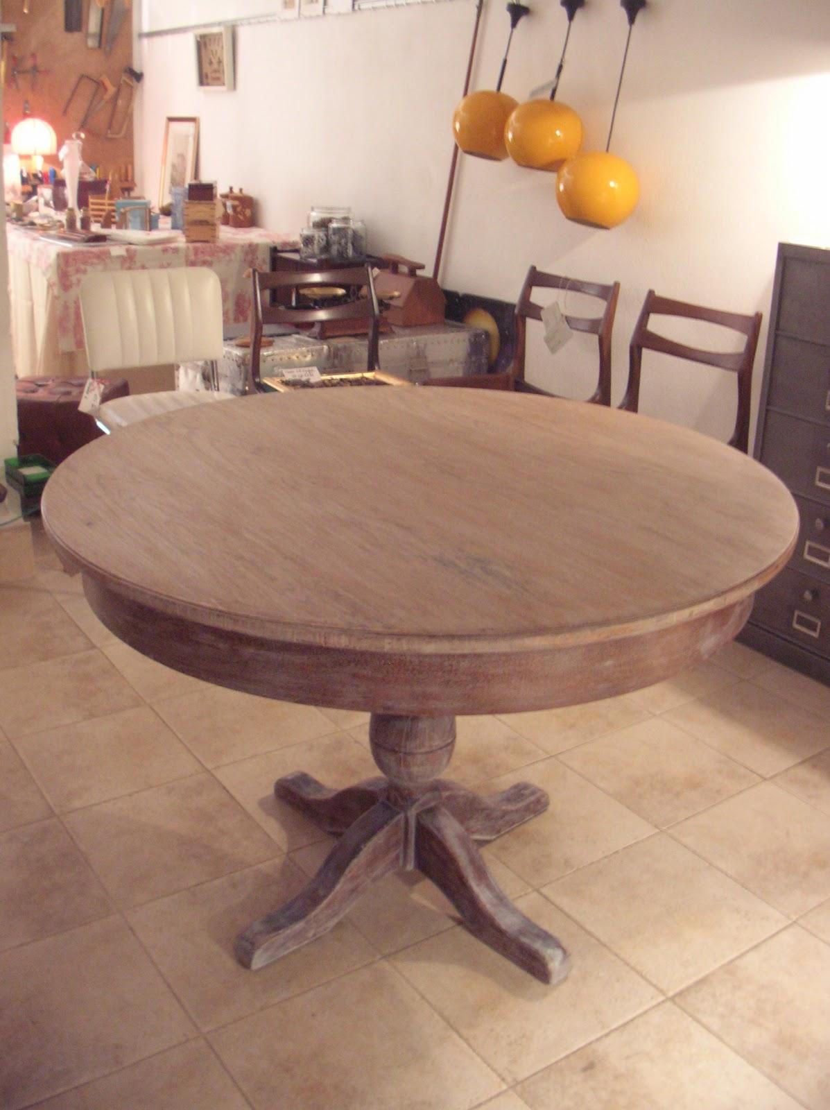 El taller de chlo mesa comedor de roble - Mesa de taller ...