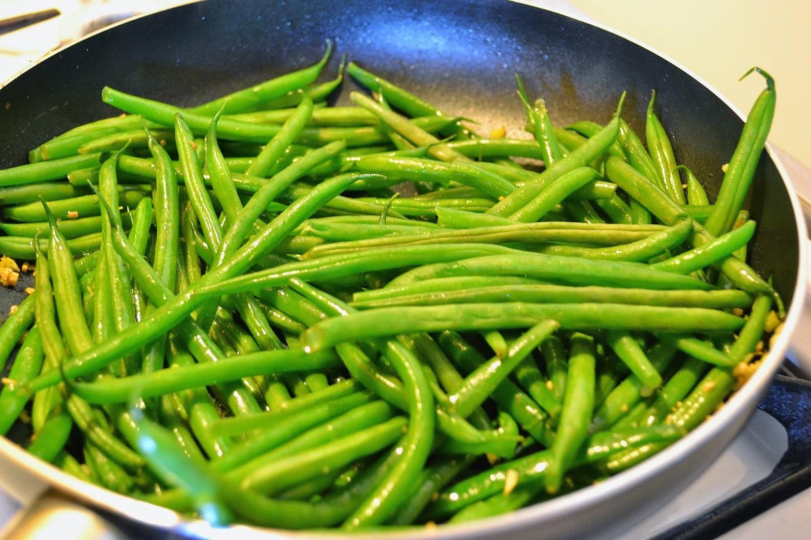 ...with a lil' twist: Miso & Greek Yogurt Green Beans