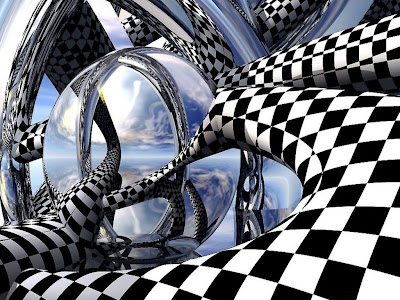 illusions art - images - cube illusions - hd