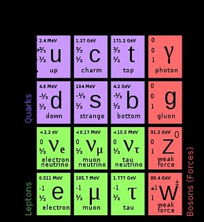 quarks leptones y particulas portadoras
