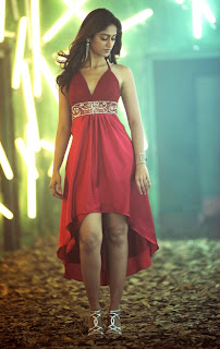 Ileana looks stunning in Red Gown