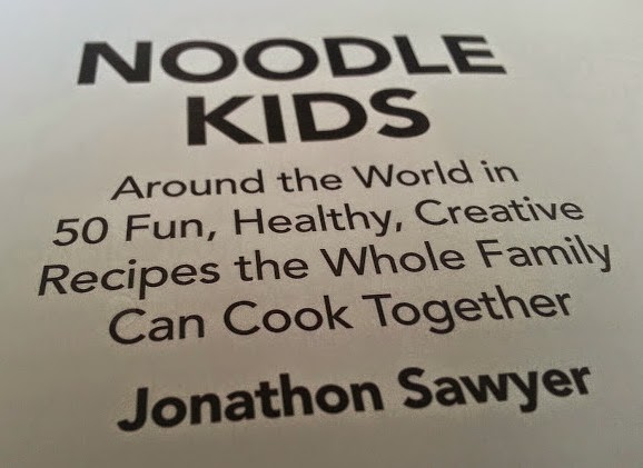 Noodle Kids recipe book review by Jonathon Sawyer
