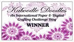 I Won at Kaboodle Doodles