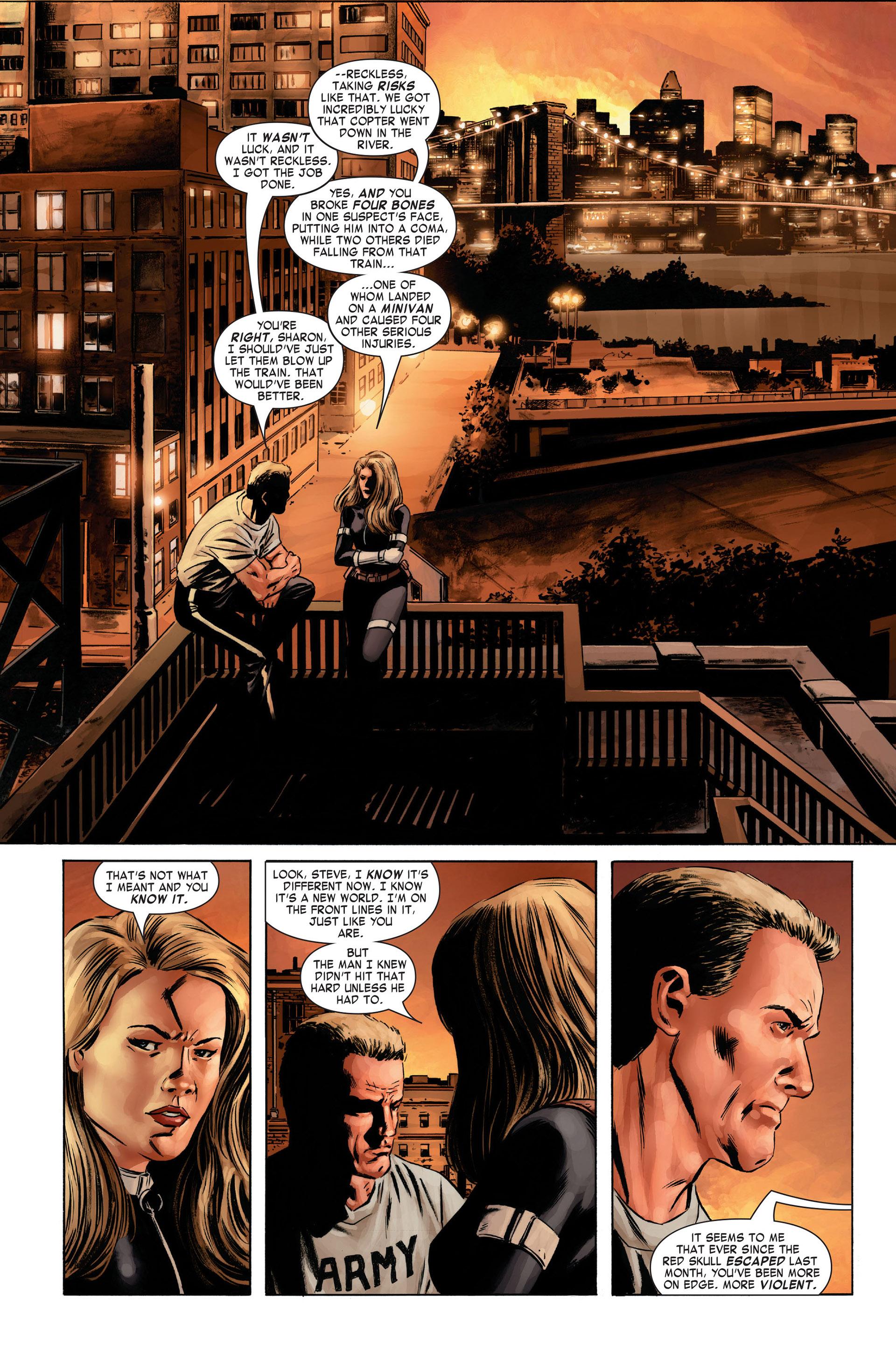 Captain America (2005) Issue #1 #1 - English 19