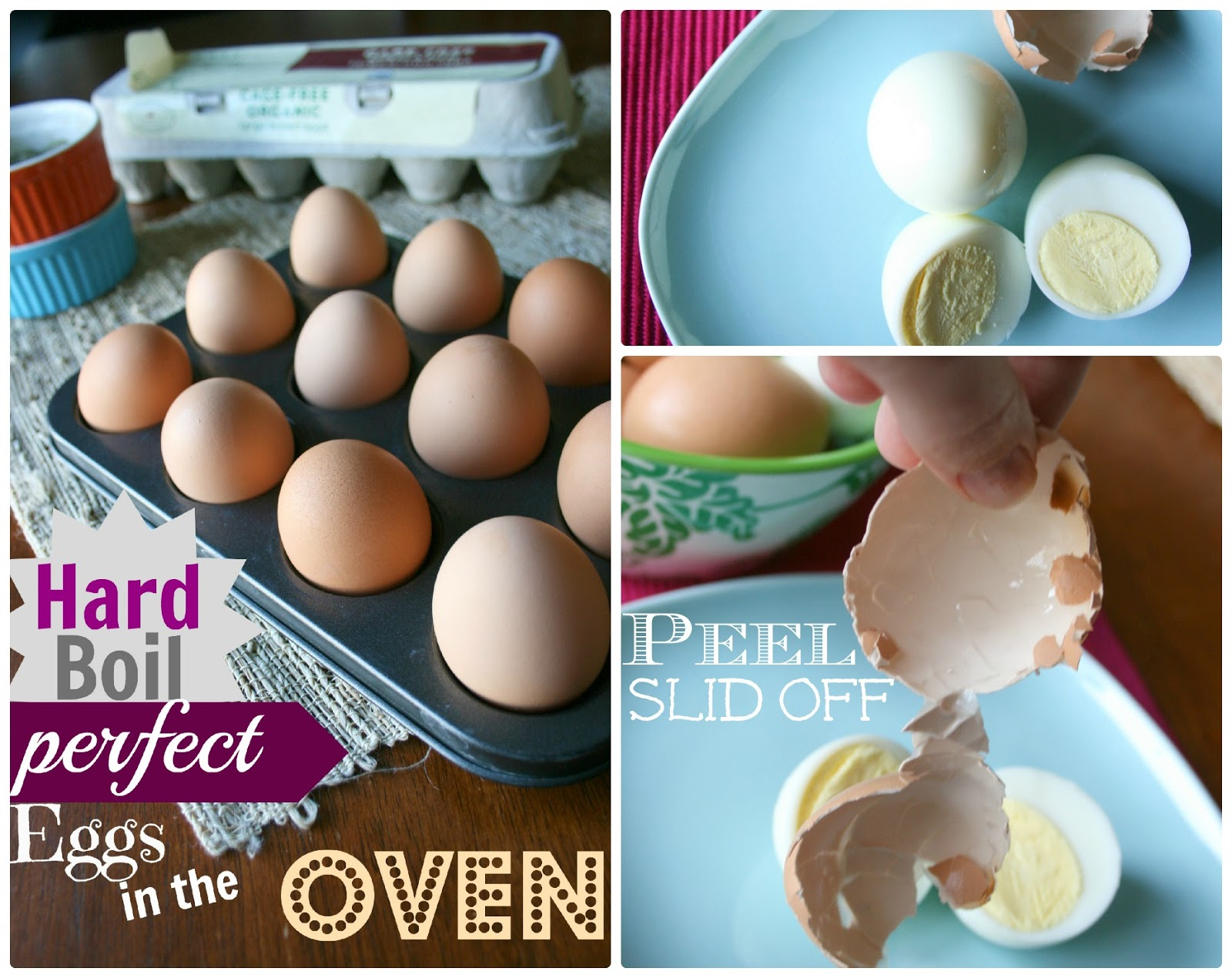 How to Make PERFECT Hard Boiled Eggs in the Oven  Family Fresh Meals