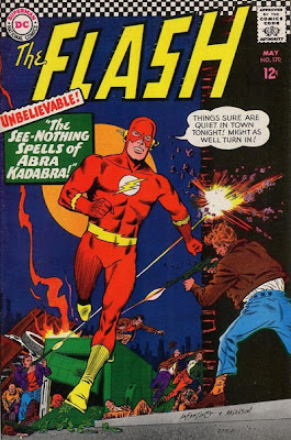 Flash #170, ignores crimes going on around him