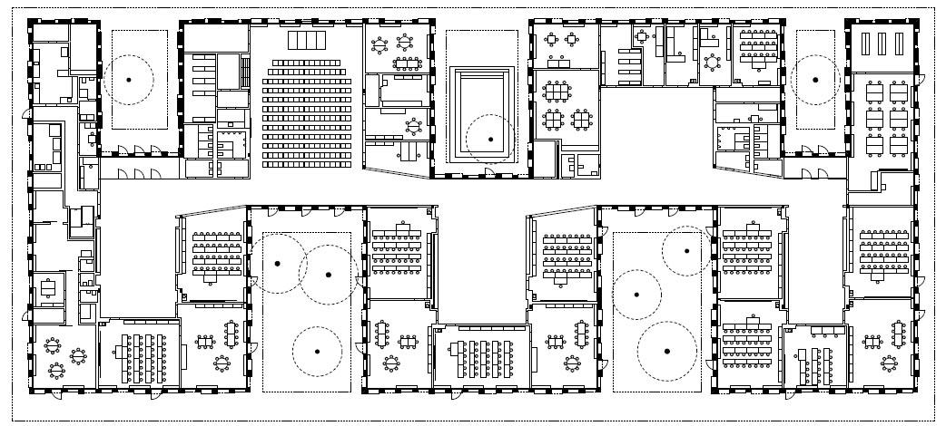 Arquitectura zona cero escuela alemana fink jocher en for Plantas de colegios arquitectura
