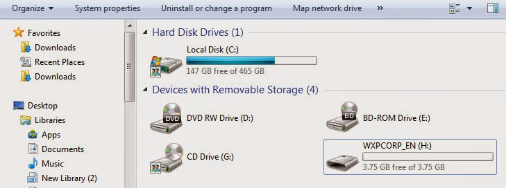 how to write drive simplified