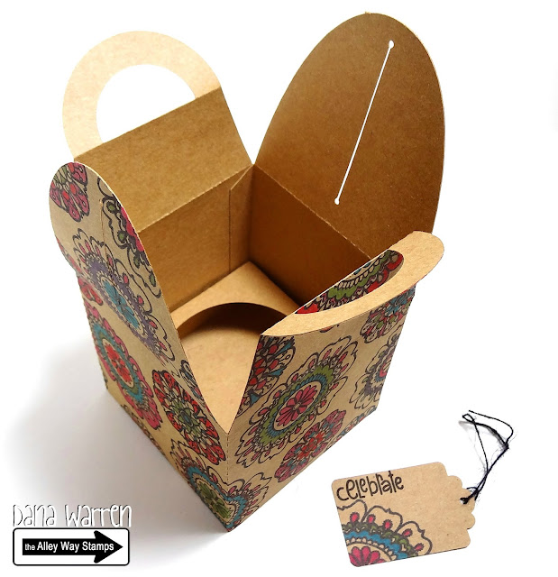 Dana Warren - Kraft Paper Stamps