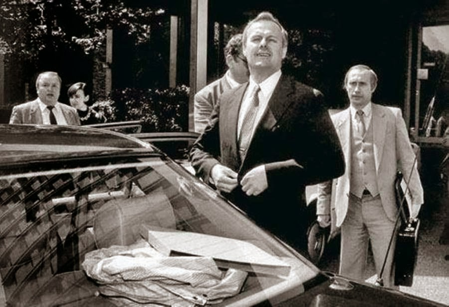Putin, vệ sĩ, Yeltsin