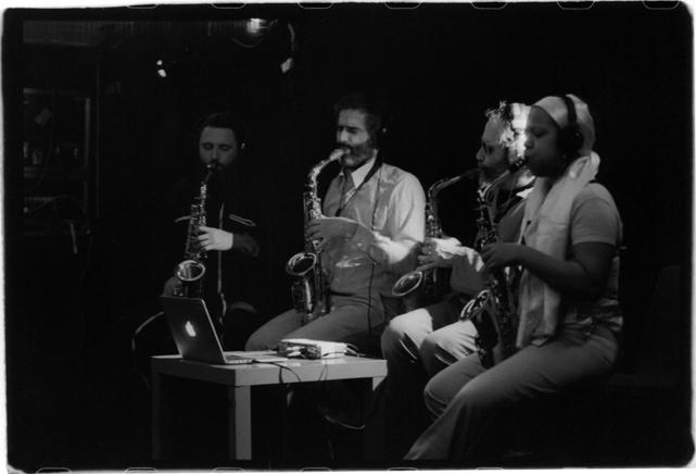 quatuor bioman (vincent debaets - jean-baptiste rubin - laurent rigaut - sakina abdou)
