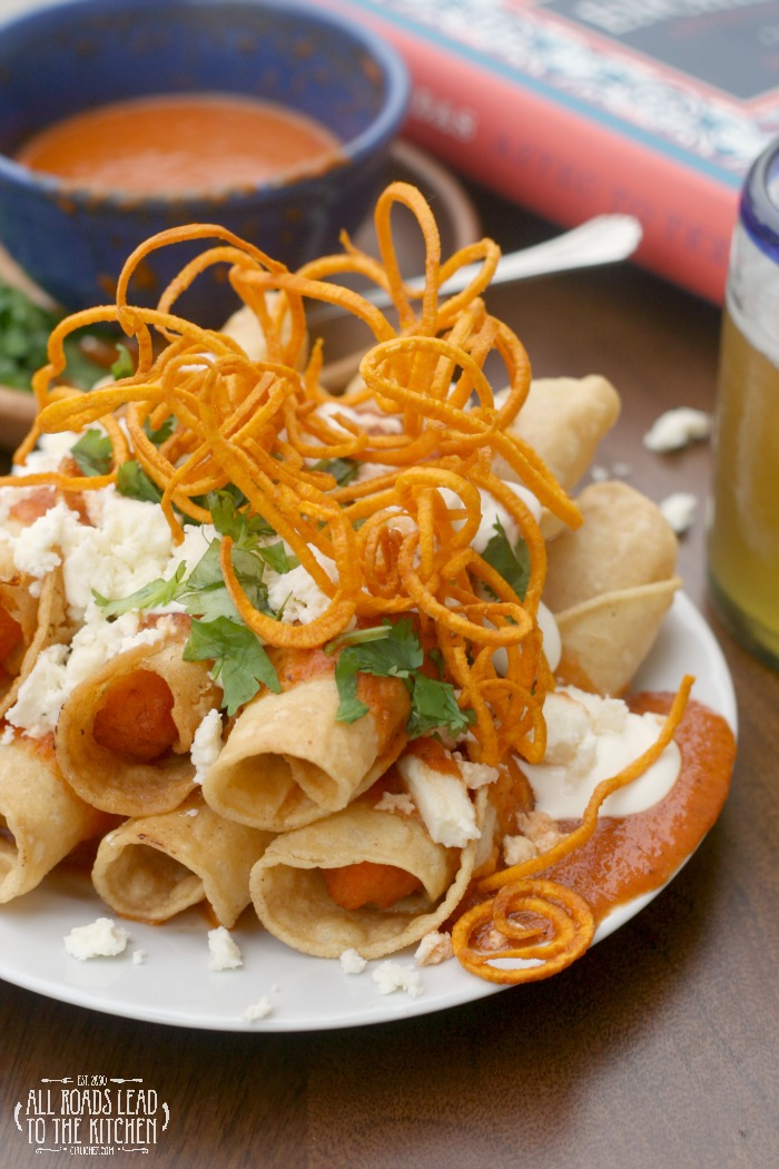Enchiladas De Camote Sweet Potato Enchiladas