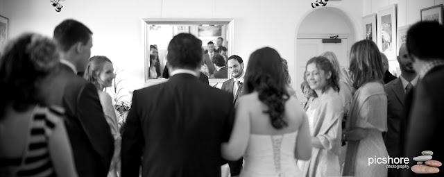 The Castle Restaurant Bude Cornwall wedding Picshore Photography