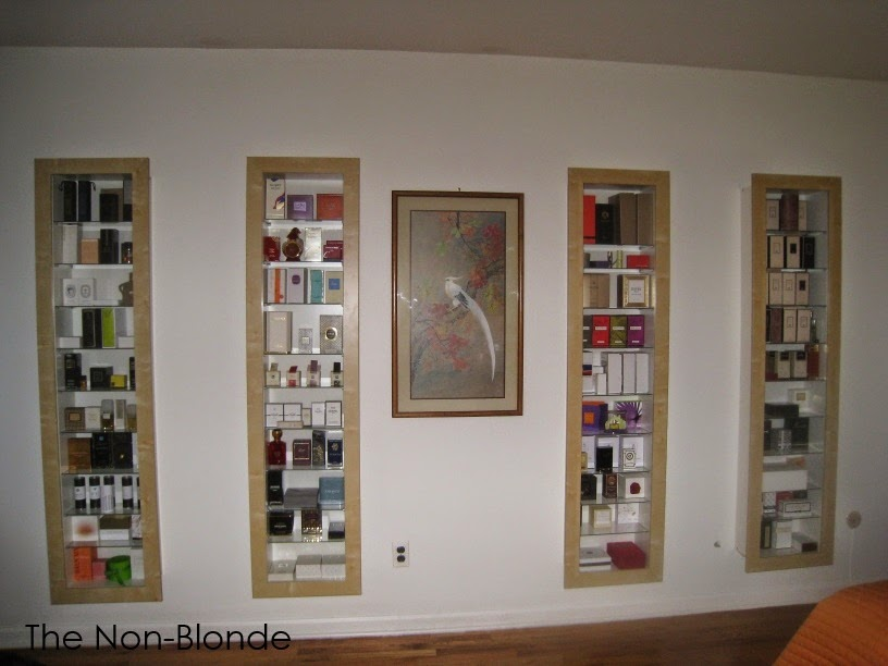 Perfume Storage | The Non-Blonde