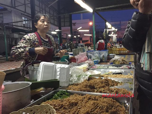 Chiang Rai Market, Thai noodle