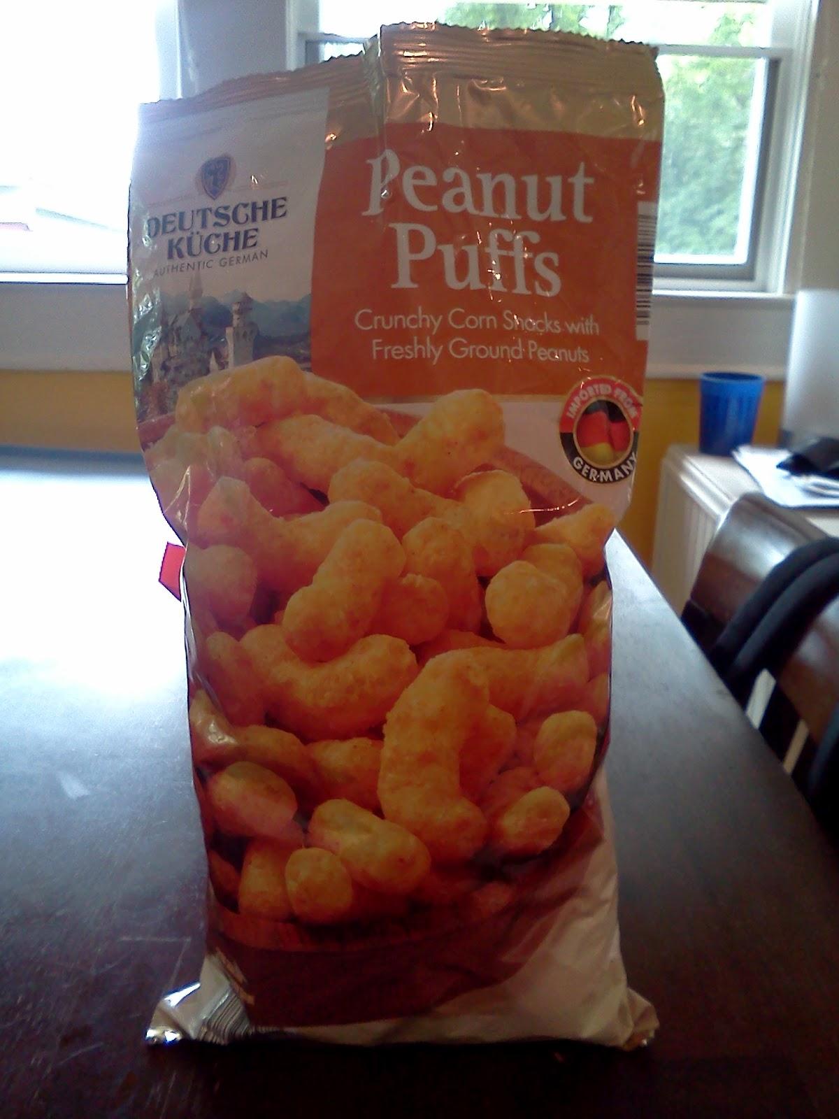 what's good at aldi?: puff-n-stuff -- authentic german peanut puffs