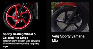 Sporting casting Wheel new Xeon RC vs Mio Sporty