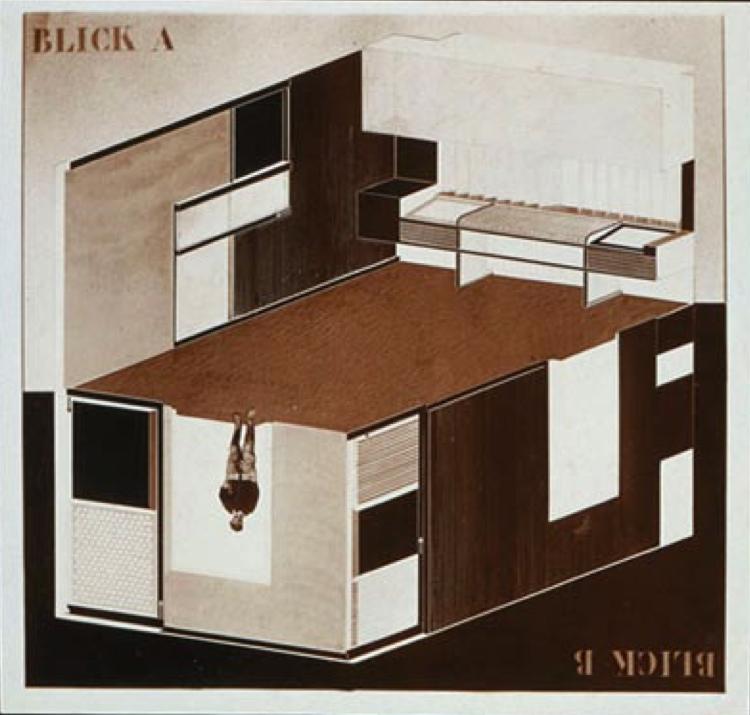 site specific expanded drawing el lissitsky. Black Bedroom Furniture Sets. Home Design Ideas