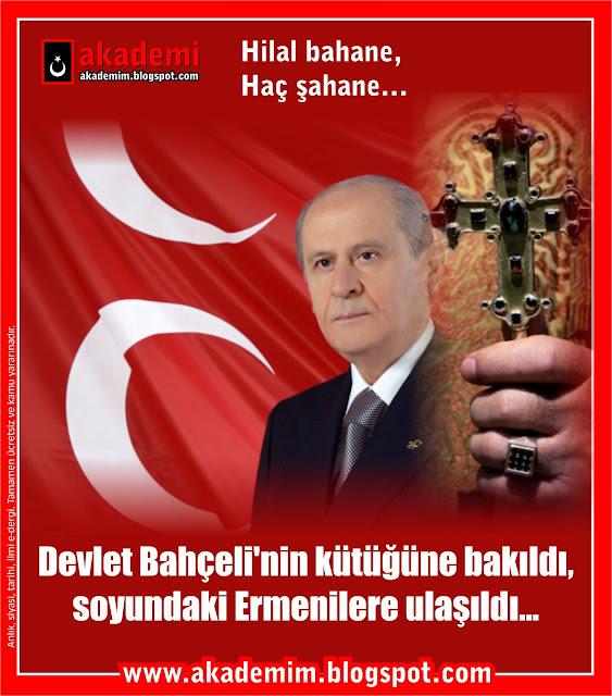 Devlet Bahçeli'nin kütüğüne bakıldı, soyundaki Ermenilere ulaşıldı...