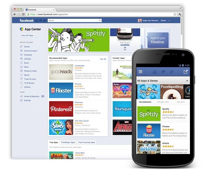 App Center - Facebook