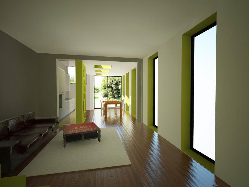 nim architecture extension pavillon a colombes. Black Bedroom Furniture Sets. Home Design Ideas
