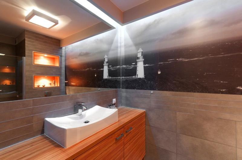 Blog Dla Ludzi Z Wnętrzem Fototapeta W łazience
