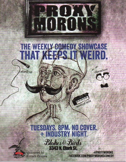 Porxy Morons Comedy Showcase
