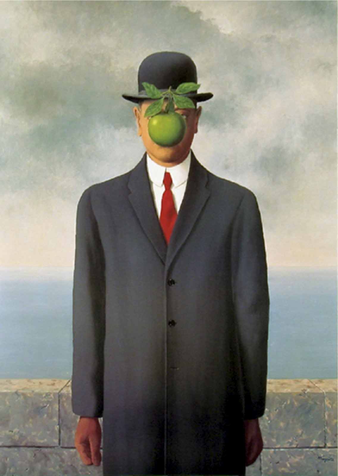 Rene Magritte The Son Of Man one year one painting ...
