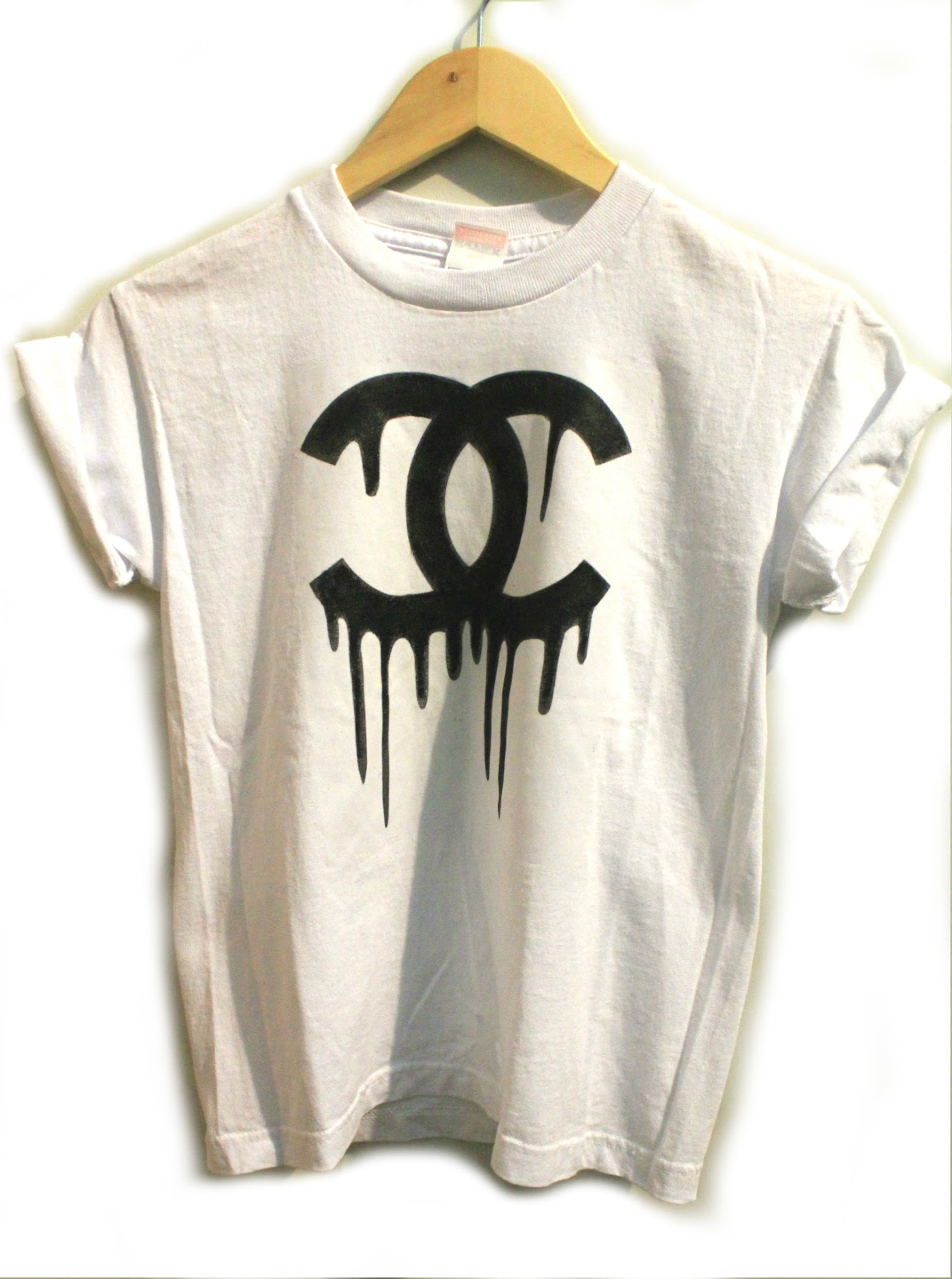 chanel shirt. chanel inspired washed out tee from storenvy shirt o