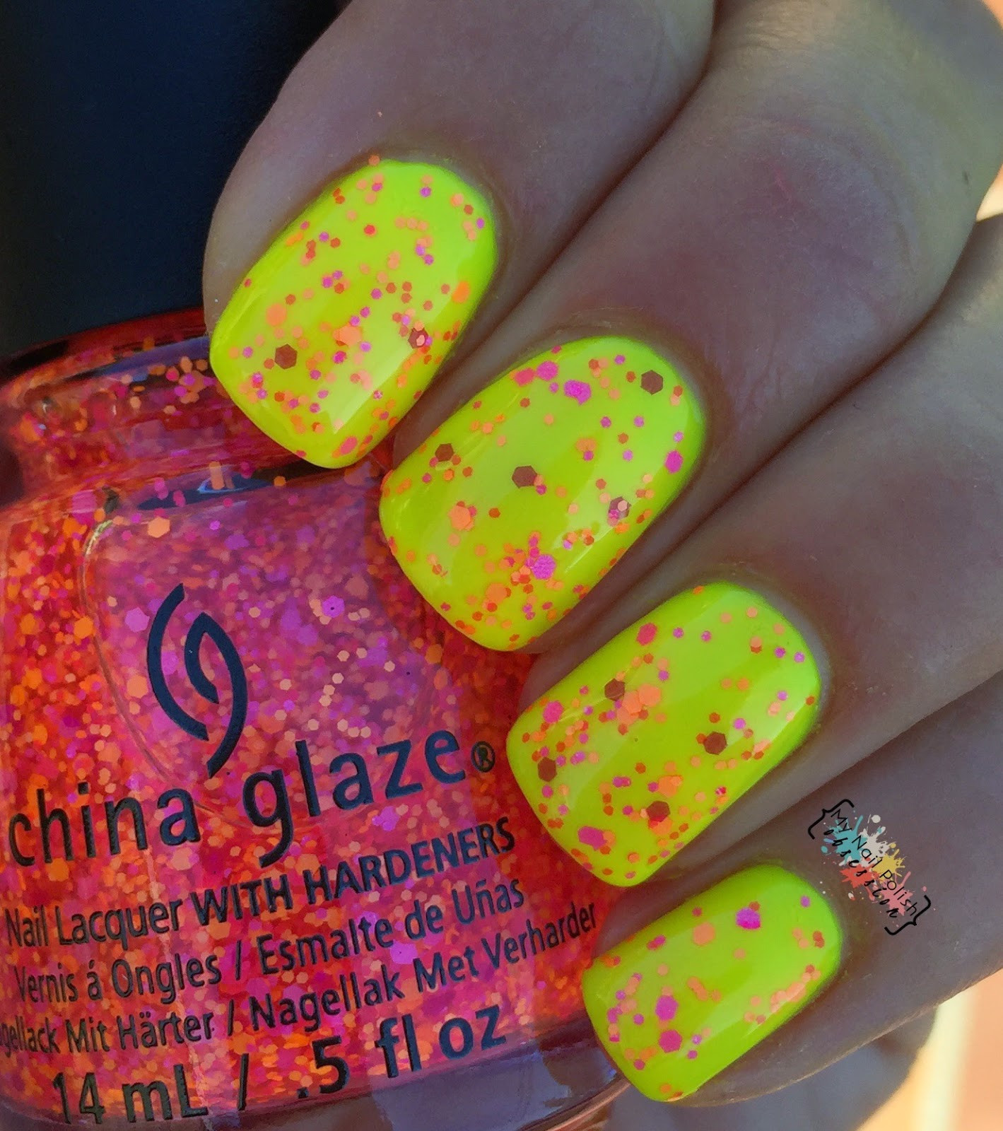 China Glaze Let The Beat Drop