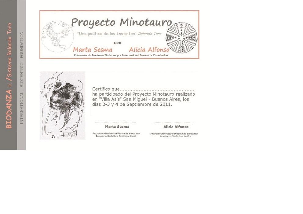 Proyecto Minotauro 2011