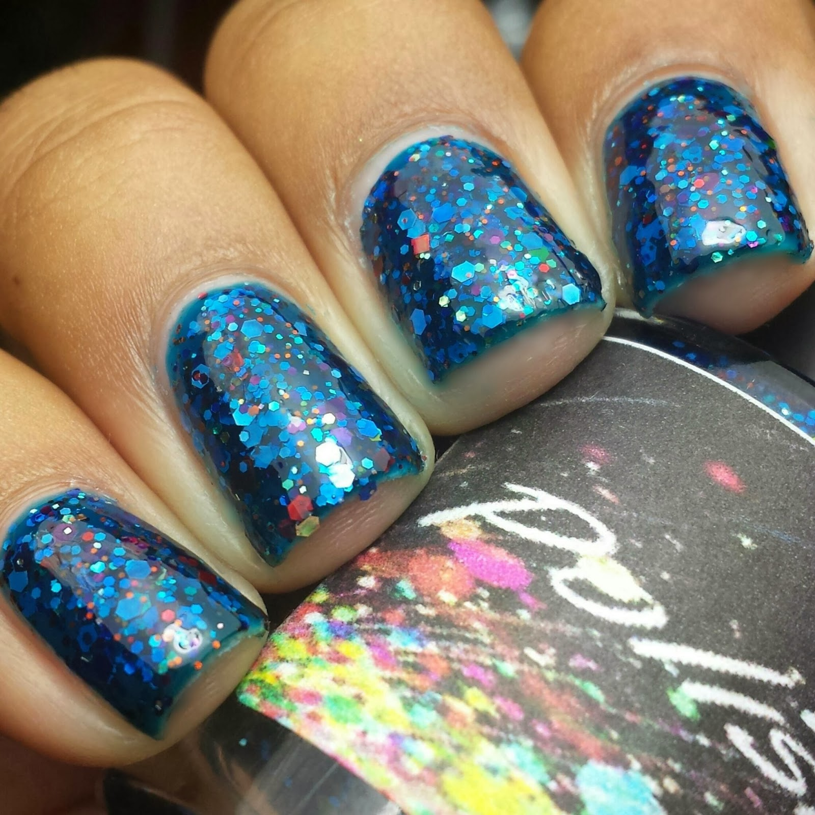 Blue Velvet Lacquer: Polish Addict Nail Color: Holiday