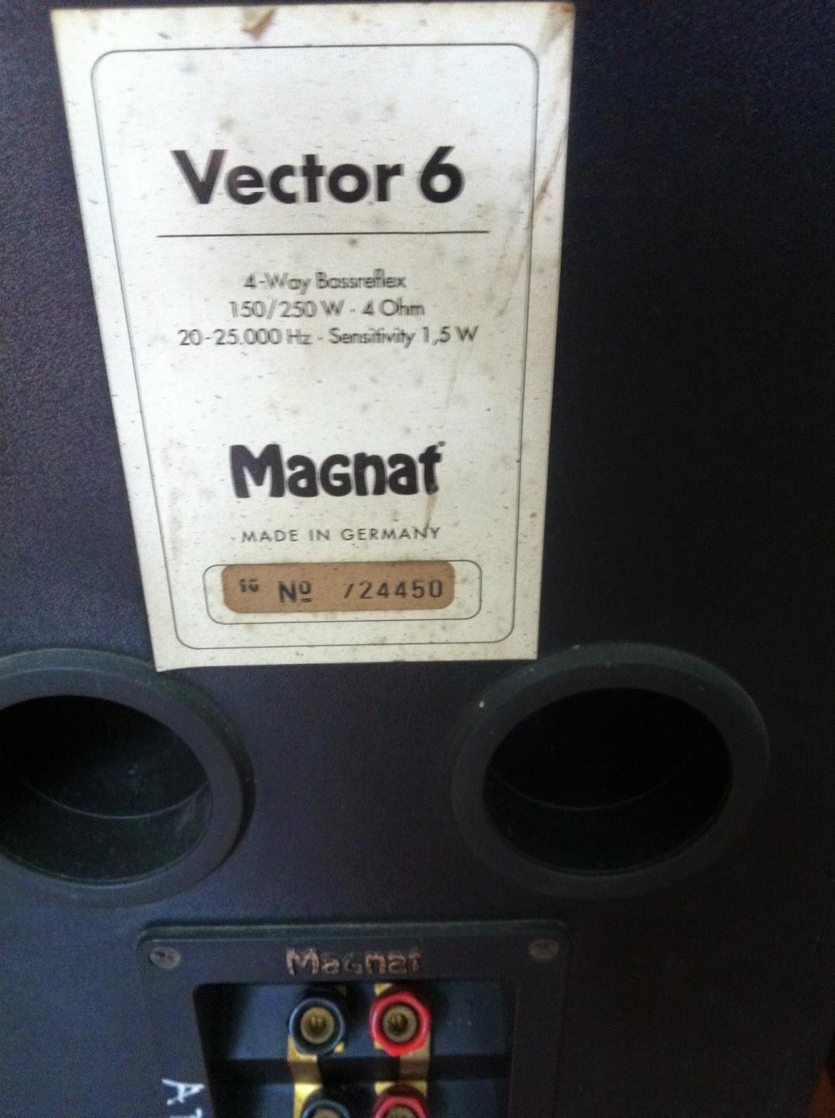 Logo và cầu loa Magnat - Vector 6